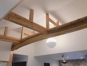 自然素材の快適な家 続々建築中‼